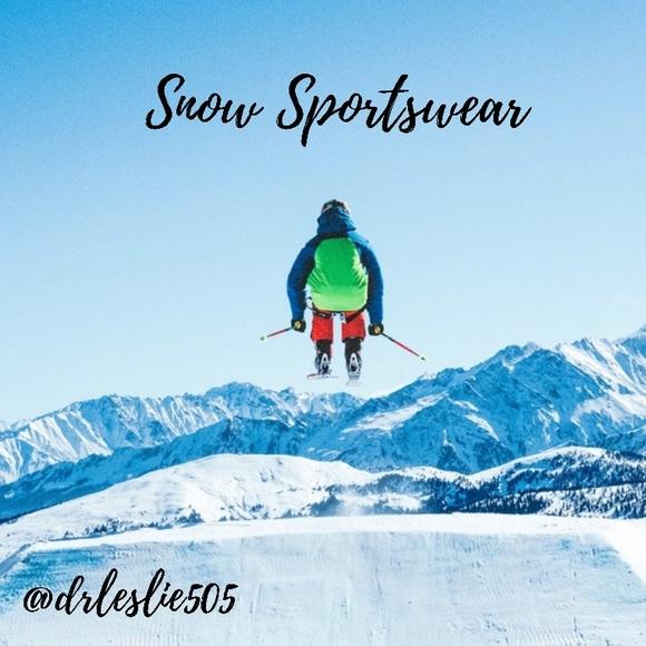 SNOW SPORT WEAR!